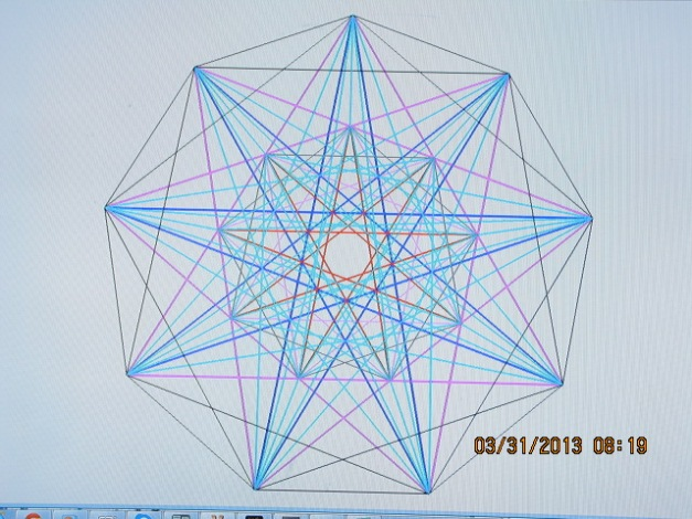This is the geometry of pure energy. You can see the expansive properties, it just jumps out at you!